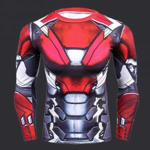 rashguard robot iron man jujitsu fighting