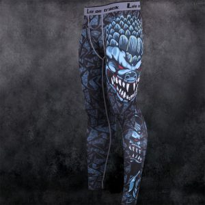 pantalon compression monstre marin jujitsu fighting