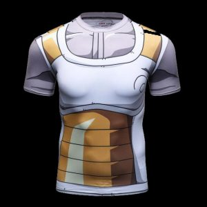 T shirt compression super sayane